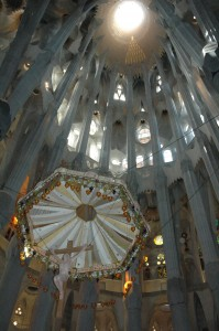 Altar of Sagrada Familia