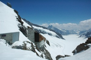 The view from Jungfraujoc